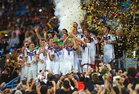 W杯ドイツ優勝