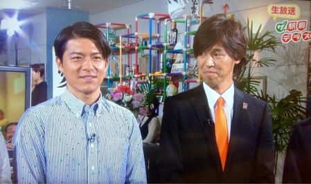 ザ・駅前テレビ山雅田中選手と土橋アンバサダー