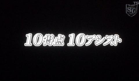 10得点10アシスト