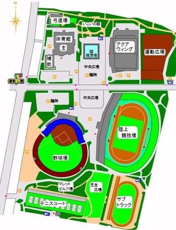 長野運動公園総合運動場