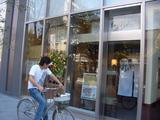 かっぽう着と自転車