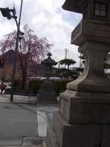 大門石灯籠