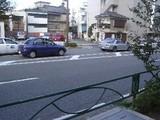 大町街道入り口(通り反対側から)
