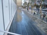 昭和通り側の新店舗開店前