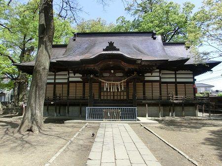 6美和神社拝殿