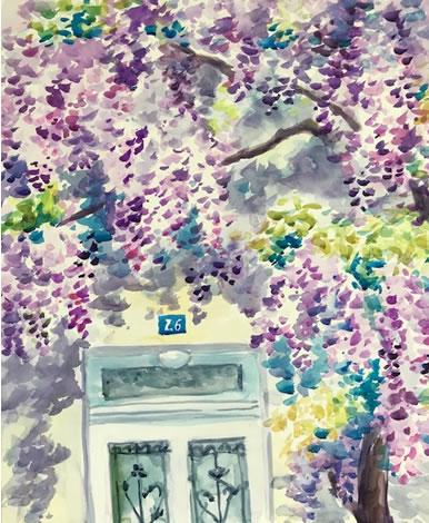 水彩画家・長尾周二1804241