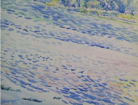 水彩画家・長尾周二150920