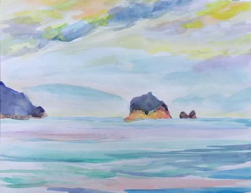 水彩画家・長尾周二2006161