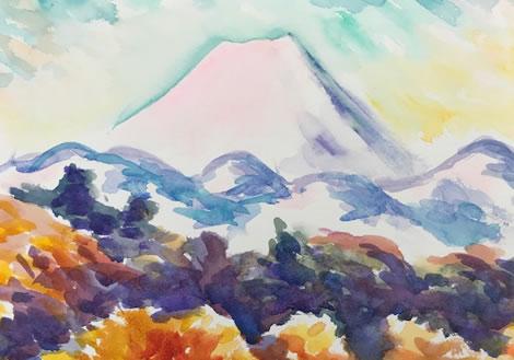 水彩画家・長尾周二1802011