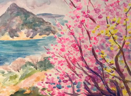 水彩画家・長尾周二1901311