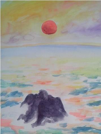 水彩画家・長尾周二1704221