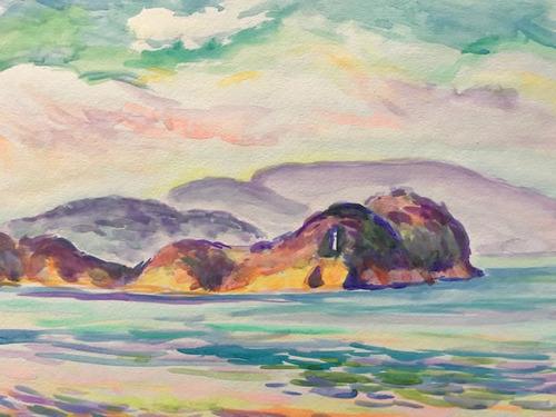水彩画家・長尾周二1902171
