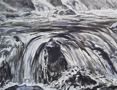水彩画家・長尾周二1502161