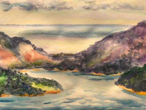 水彩画家・長尾周二2002061
