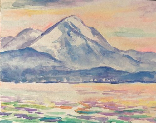 水彩画家・長尾周二1812132