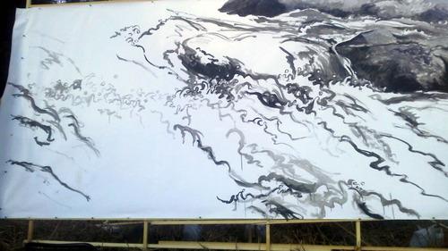 水彩画家・長尾周二170102