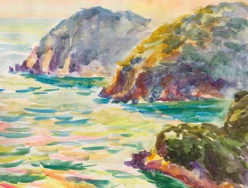 水彩画家・長尾周二1901252