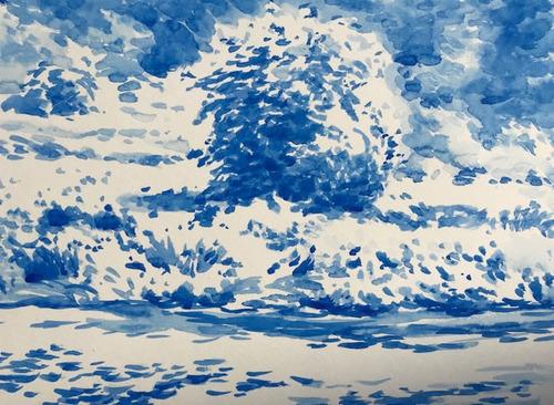 水彩画家・長尾周二1905261