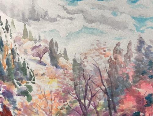 水彩画家・長尾周二1812201