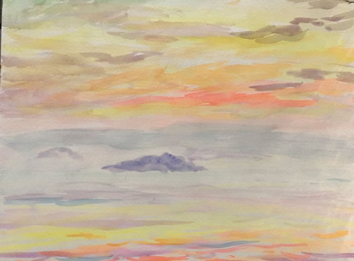 水彩画家・長尾周二1811052
