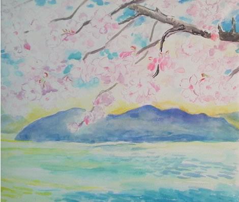 水彩画家・長尾周二20140225