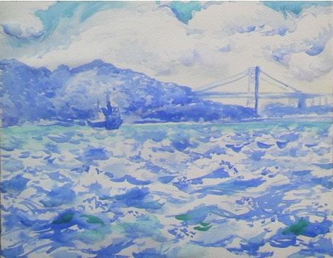 水彩画家・長尾周二170116