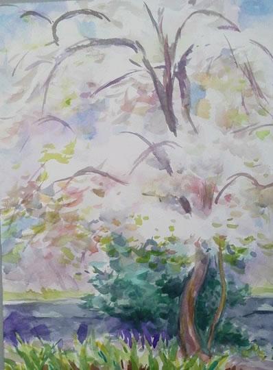 水彩画家・長尾周二・作品写真120318