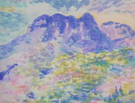 水彩画家・長尾周二1704191