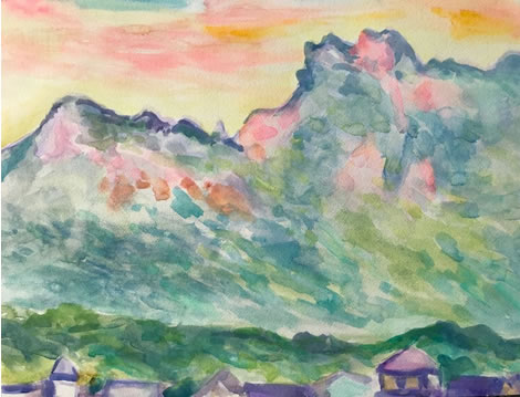 水彩画家・長尾周二1805262