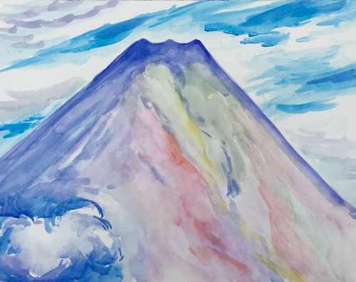 水彩画家・長尾周二181011