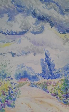 水彩画家・長尾周二1508311
