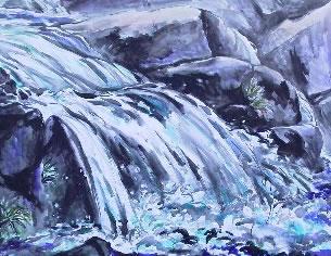 水彩画家・長尾周二1301131
