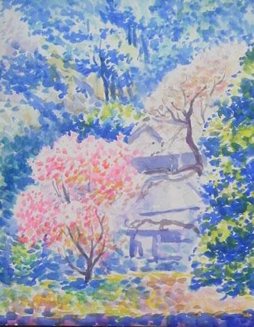 水彩画家・長尾周二1702191