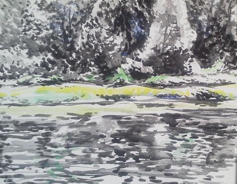 水彩画家・長尾周二1708172