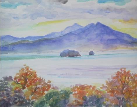 水彩画家・長尾周二1612282