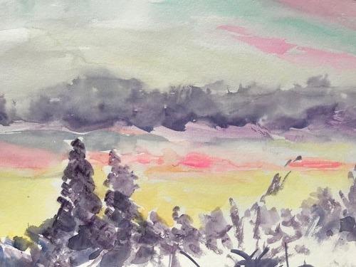 水彩画家・長尾1周二1910111