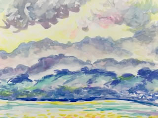 水彩画家・長尾周二1806112