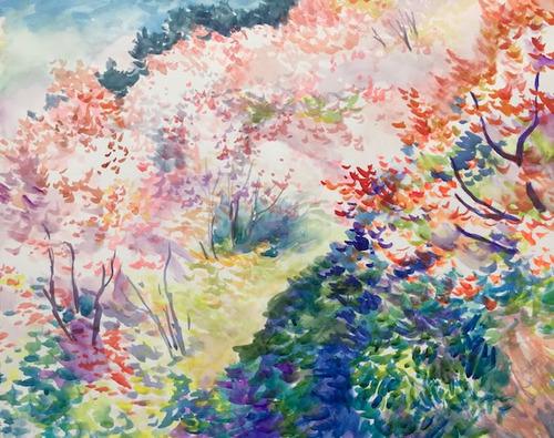 水彩画家・長尾周二1904071