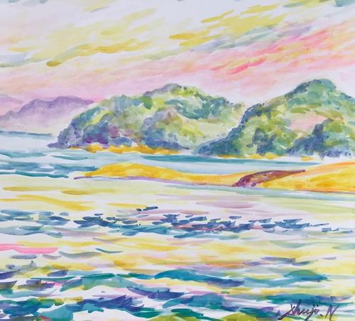 水彩画家・長尾周二1905151