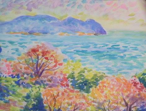水彩画家・長尾周二1704021