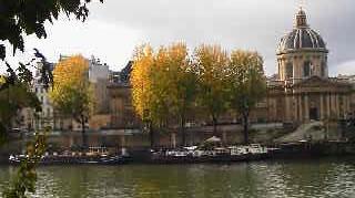 水彩画家・長尾周二・パリセーヌ河畔の風景写真