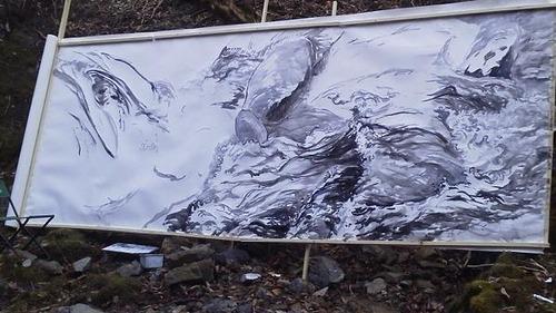 水彩画家・長尾周二1503222