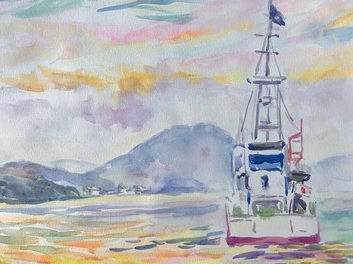 水彩画家・長尾周二1901182