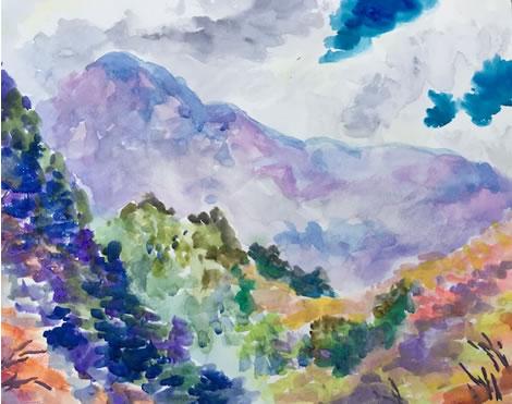 水彩画家・長尾周二180121