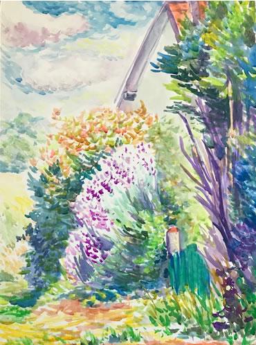 水彩画家・長尾周二1907161