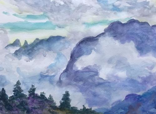 水彩画家・長尾周二2001231