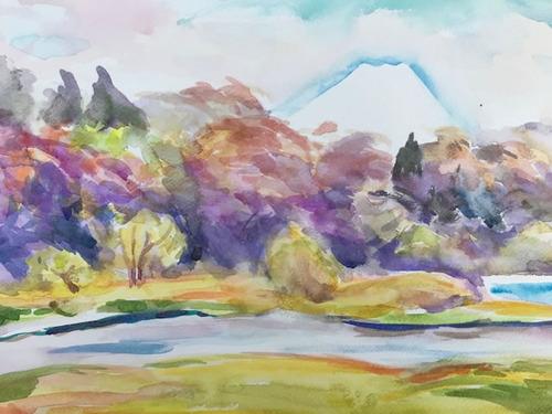 水彩画家・長尾周二1902241