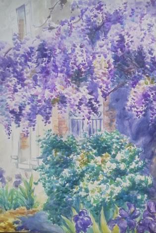 水彩画家・長尾周二150425