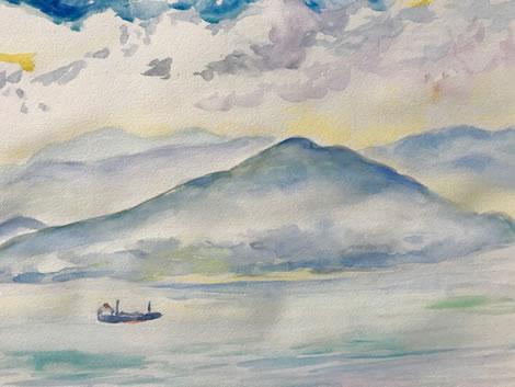 水彩画家・長尾周二1806242
