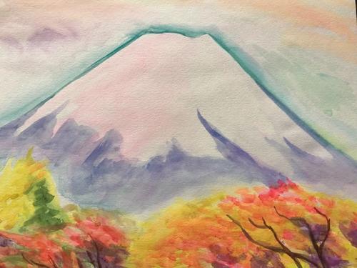 水彩画家・長尾1周二1911081